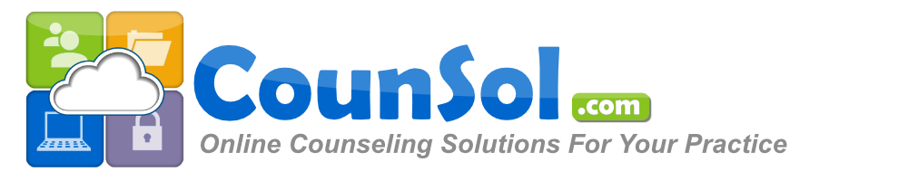 CounSol.com Live Online Counseling Service Complete Practice Management